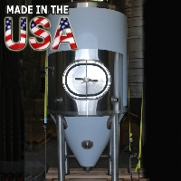 7 Barrel Stainless Steel Conical Fermenter Uni Beer Tank - 100% MADE IN THE USA