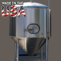 Brand New Stainless Steel 30 Barrel Uni Beer Tank Conical Fermenter