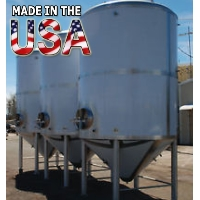 Brand New Stainless Steel 60 Barrel Uni Beer Tank Conical Fermenter