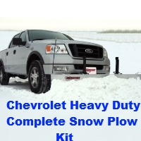 Chevrolet Heavy Duty Plow Kit
