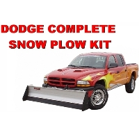 Dodge Complete Snow Plow Kit