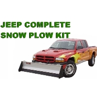 Jeep Complete Snow Plow Kit