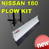 Nissan 180 Utility Snow Plow