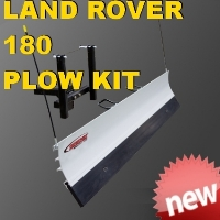 Land Rover 180 Utility Plow