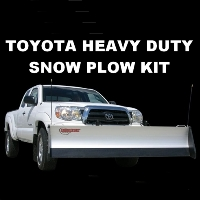 Toyota Heavy Duty Snow Plow Kit