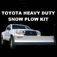Toyota Heavy Duty Snow Plow Kit