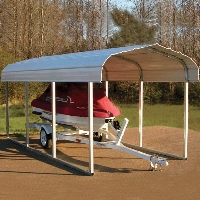 15ft.L x 7ft.W x 6ft.H VersaTube ATV Sport Shelter Car Port