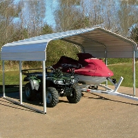 10ft.L x 12ft.W x 6ft.H VersaTube ATV Sport Shelter Car Port