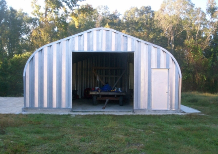 Metal Barn Kits >> 25 X 30 X 13 Metal Garage Storage Building Kit