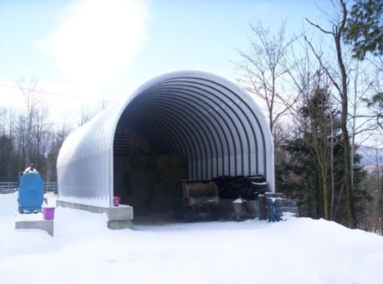 20 X 20 X 14 Prefab Metal Arch Cover Garage Storage Building