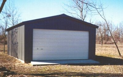 20 39 X 24 39 X 10 39 Steel Frame Shed Garage Building Kit