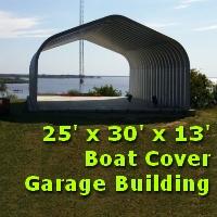 20' x 22' x 12' Metal Garage Storage Building Kit