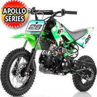 Apollo 110cc Dirt Bike Automatic w/Electric Start - DB-28 110cc