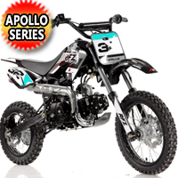 Apollo 110cc Dirt Bike 4 Speed Semi Auto w/Kick Start - DB-32 110cc