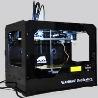 Brand New D4 3D Printer - Black Case