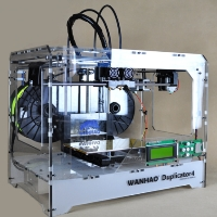 Brand New D4 3D Printer - Transparent Case