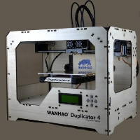 Brand New D4 3D Printer - Woodframe Case