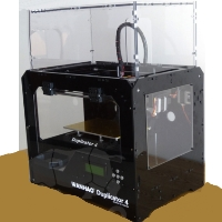 Brand New D4X 3D Printer - Black Case