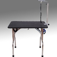 High Quality Portable Folding Dog Grooming Table with Wheels