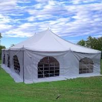 30'x20' Party Wedding Canopy PVC Pole Tent