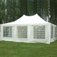 23 x16.5 Rectangle Wedding Party Gazebo Tent Canopy White