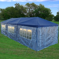 10'x30' Party Wedding tent Gazebo Pavilion Catering Blue