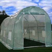 High Quality 15'Lx7'W X7'H Walk In Garden Greenhouse