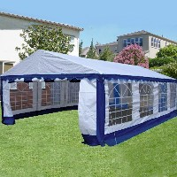 26'x16' Blue/White Heavy Duty Party Wedding Canopy Tent