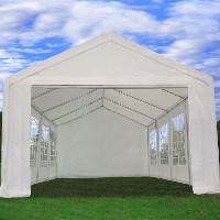 26' x13' Heavy Duty White Party Canopy Wedding Tent