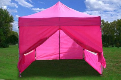 This 10x10 Pink EZ Pop Up Canopy Party Tent Gazebo is perfect for parties business use and any other special occasions. Its bright colors and design really ... & High Quality 10x15 Burnt Orange EZ Pop Up Canopy Party Tent Gazebo