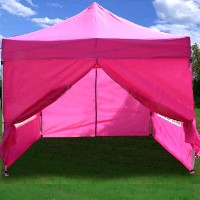 High Quality 10x15 Burnt Orange EZ Pop Up Canopy Party Tent Gazebo