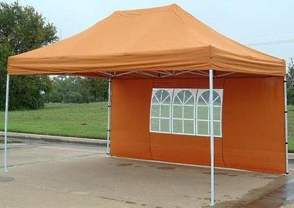 High Quality 10x15 Burnt Orange Ez Pop Up Canopy Party