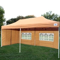 10x20 Pop Up Canopy Party Tent Gazebo EZ Burnt Orange