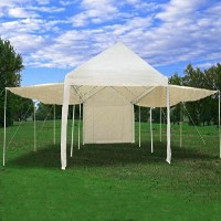 20 x 10 Canopy Carport Shade Party Tent - w Extension