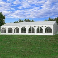 49'x23' PVC White Heavy Duty Party Wedding Tent