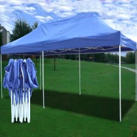High Quality 10x20 Pop Up 6 Wall Canopy Party Tent Gazebo EZ - Sky Blue