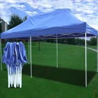 High Quality 10x20 Pop Up 6 Wall Canopy Party Tent Gazebo EZ - Sky Blue