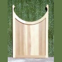 Brand New Custom Red Cedar 3.5' Monticello Pergola or Arbor Gate