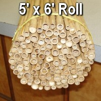 Brand New 5'H x 6'W Heavy Bamboo Fence Indoor / Outdoor