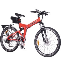 X-Cursion Folding Electric Mountain Bicycle Bike - Lithium Powered