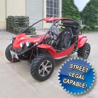 1100cc Sand Ripper Dune Buggy Street Legal Capable Utility Vehicle