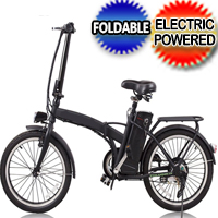 "20"" 250W Foldaway Electric Bike Sport Ebike 36V 10A Lithium Battery"